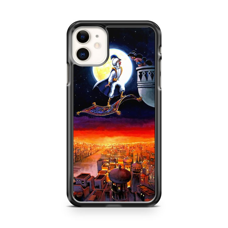 Disney Fine Art Prince Aladdin Jasmine iPhone 11 Case Cover