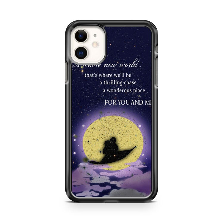 Disney Funny Quotes iPhone 11 Case Cover