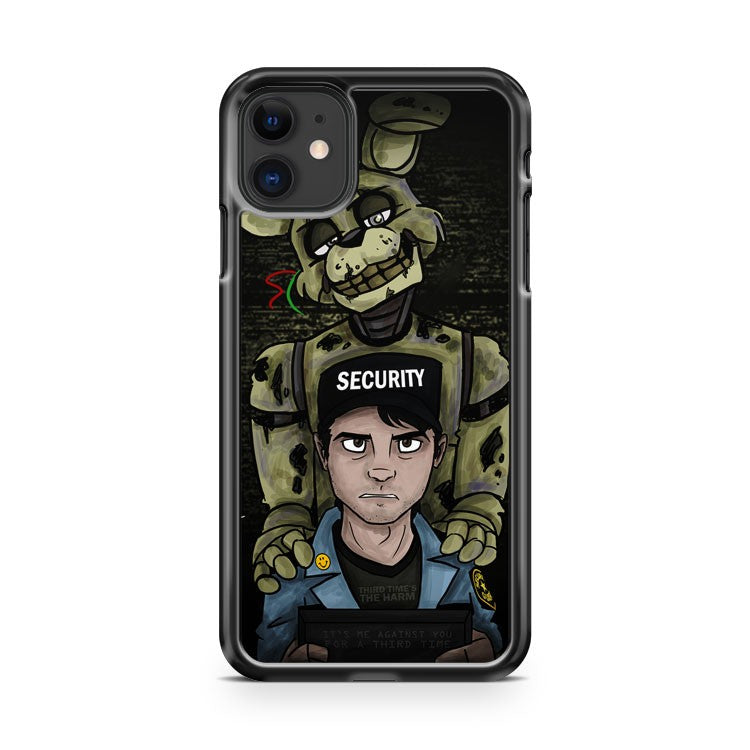 5 Nights With Freddie Scary iPhone 11 Case Cover | Overkill Inc.