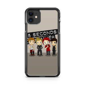 5 Second Of Summers Chibi iPhone 11 Case Cover | Overkill Inc.
