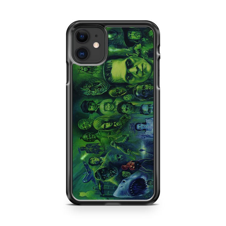 A History Of Horror iPhone 11 Case Cover | Overkill Inc.