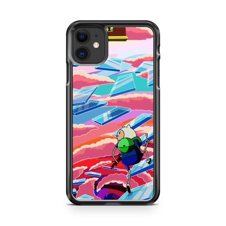 Adventure Time Finn On The Wizard Steps iPhone 11 Case Cover | Overkill Inc.