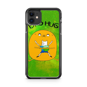 Adventure Time Bro Hug iPhone 11 Case Cover | Overkill Inc.
