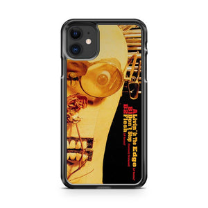 Aerosmith Livin On The Edge Pic Disc 2 iPhone 11 Case Cover | Overkill Inc.