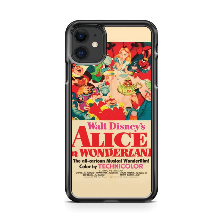 Alice Vintage Movie Poster iPhone 11 Case Cover | Overkill Inc.