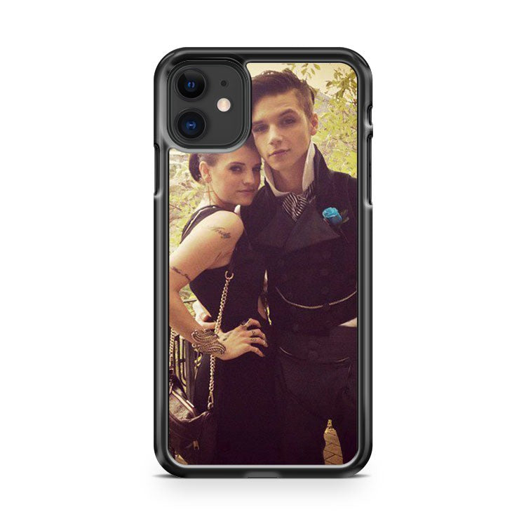Andy Biersack And Juliet Simms At Jinxx And Sammi s Wedding iPhone 11 Case Cover | Overkill Inc.