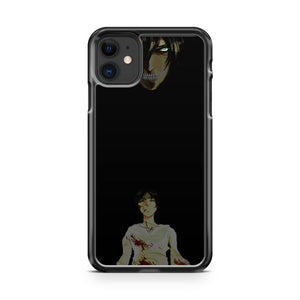 Attack On Titan Eren iPhone 11 Case Cover | Overkill Inc.