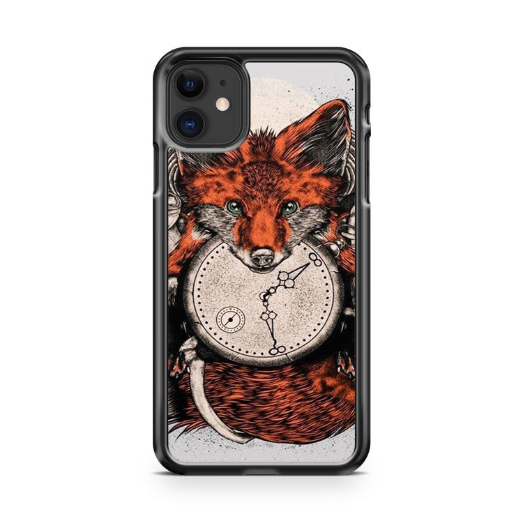 Clock Fox iPhone 11 Case Cover | Overkill Inc.