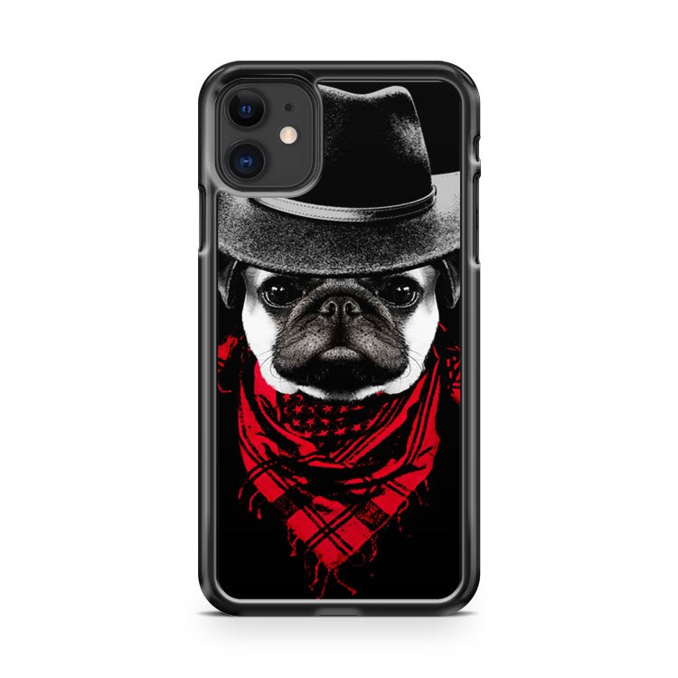 Cowboy Pug iPhone 11 Case Cover | Overkill Inc.