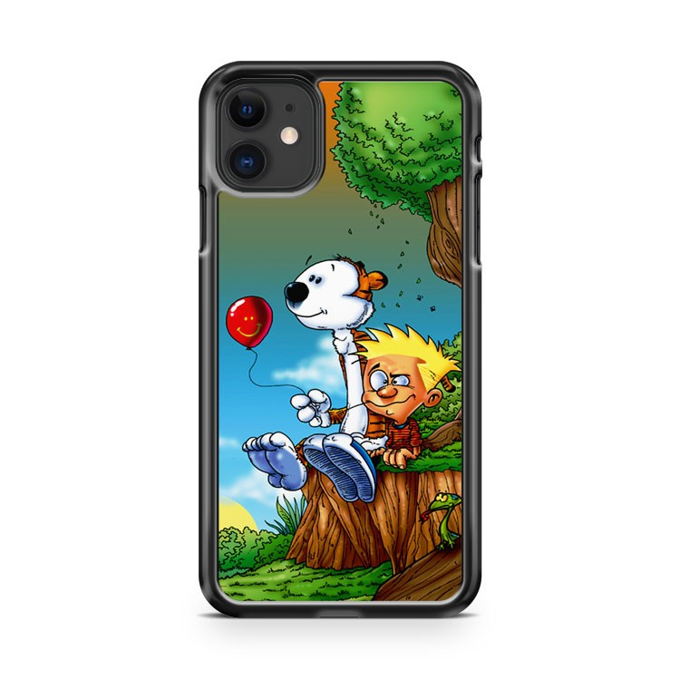 Cute Calvin And Hobbes iPhone 11 Case Cover | Overkill Inc.