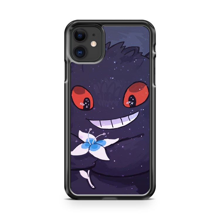 Cute Gengar iPhone 11 Case Cover | Overkill Inc.