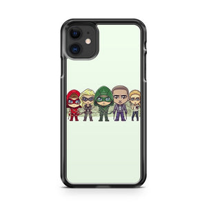 Cute Team Arrow iPhone 11 Case Cover | Overkill Inc.