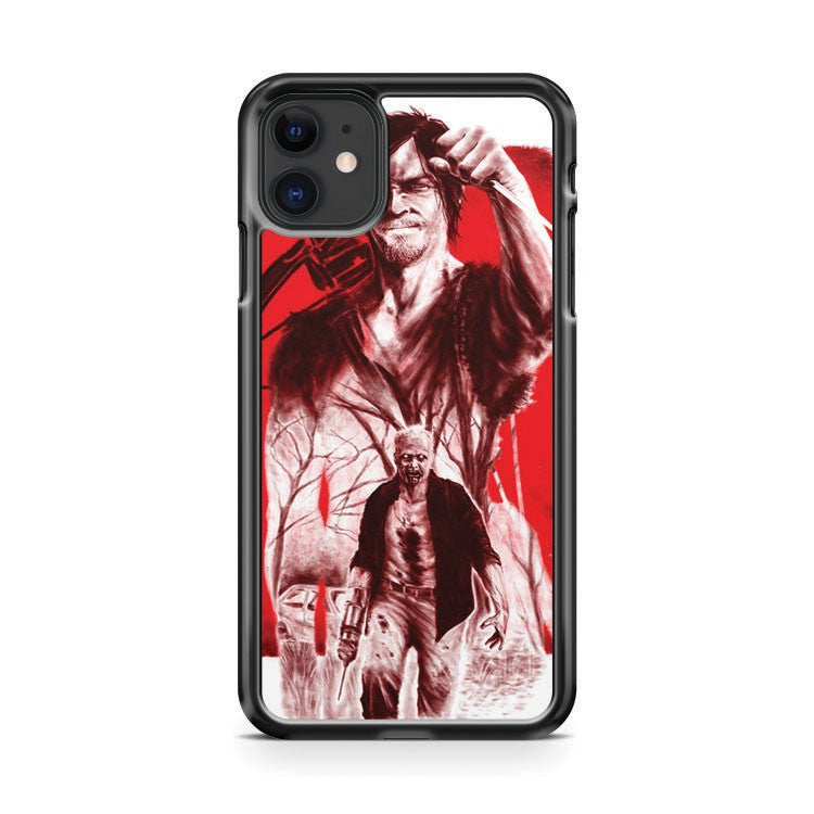 Daryl Dixon Merle Dixon The Walking Dead iPhone 11 Case Cover | Overkill Inc.