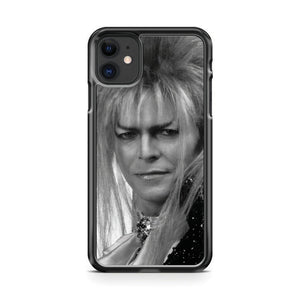 David Bowie Wearin Labyrinth iPhone 11 Case Cover | Overkill Inc.