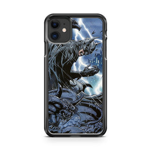 Dc Comics Batman Stormy Night iPhone 11 Case Cover | Overkill Inc.
