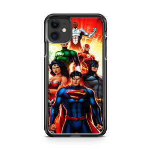 Dc Comics Justice League 3 iPhone 11 Case Cover | Overkill Inc.