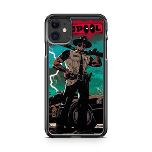 Deadpool Sheriff iPhone 11 Case Cover | Overkill Inc.