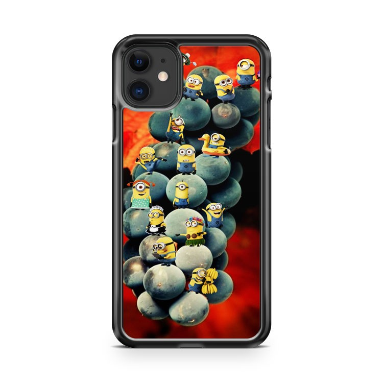 Despicable Me Minions On The Grape iPhone 11 Case Cover | Overkill Inc.