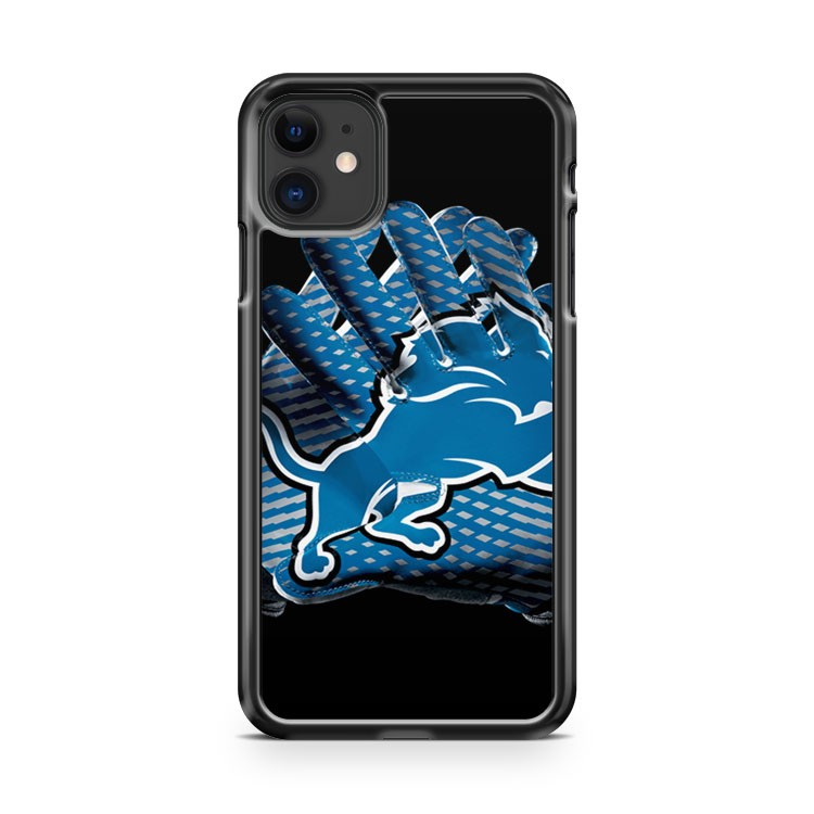 Detroit Lions Glove iPhone 11 Case Cover