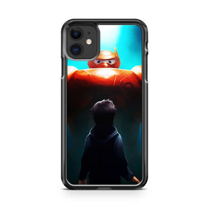 Disney Big Hero 6 Baymax And Hiro iPhone 11 Case Cover