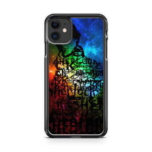 Galaxy Sherlock Benedict iPhone 11 Case Cover