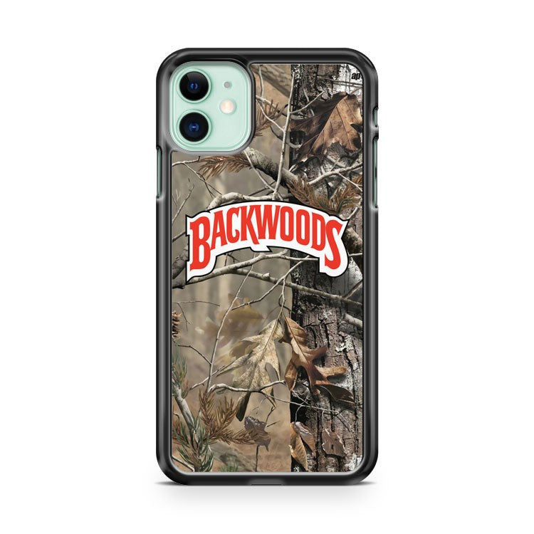 Backwoods Cigar Realtree Camo iPhone 11 Case Cover | Overkill Inc.