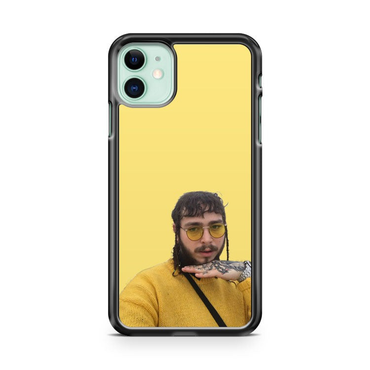 Cute Posty Post Malone iPhone 11 Case Cover | Overkill Inc.