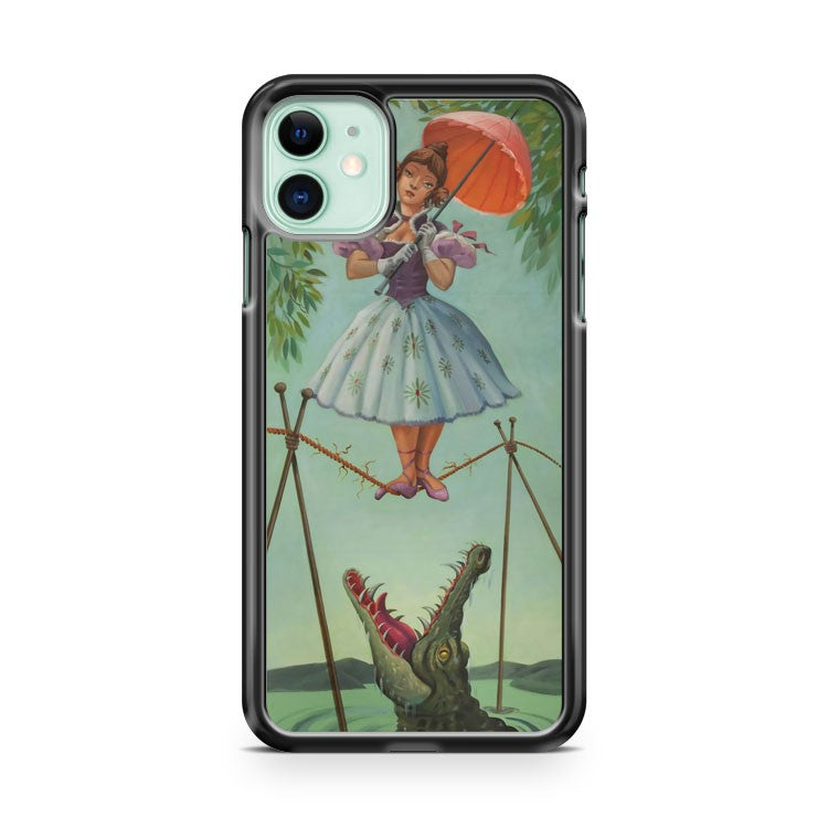 Disney Haunted Mansion Painting Ballerina iPhone 11 Case Cover