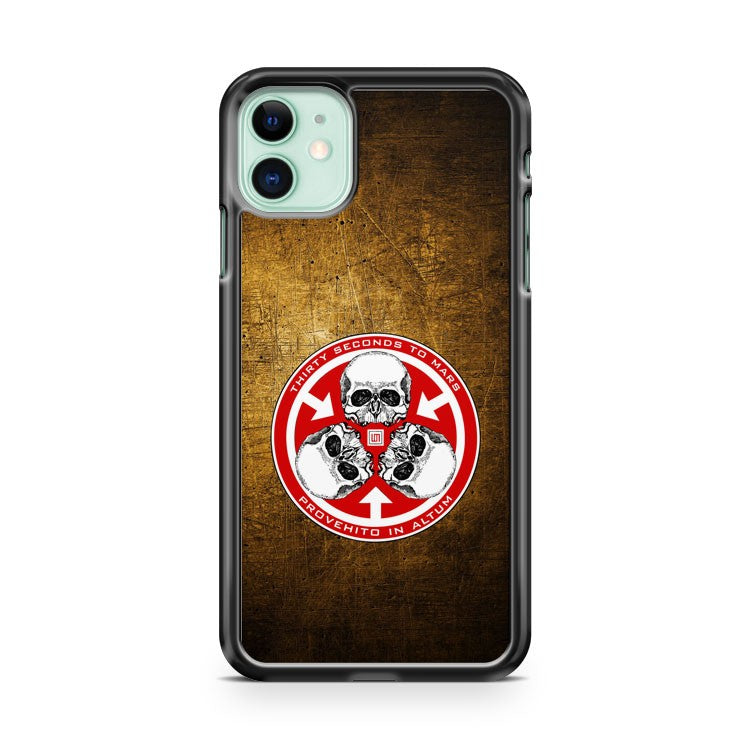 30 Seconds To Mars iPhone 11 Case Cover | Overkill Inc.