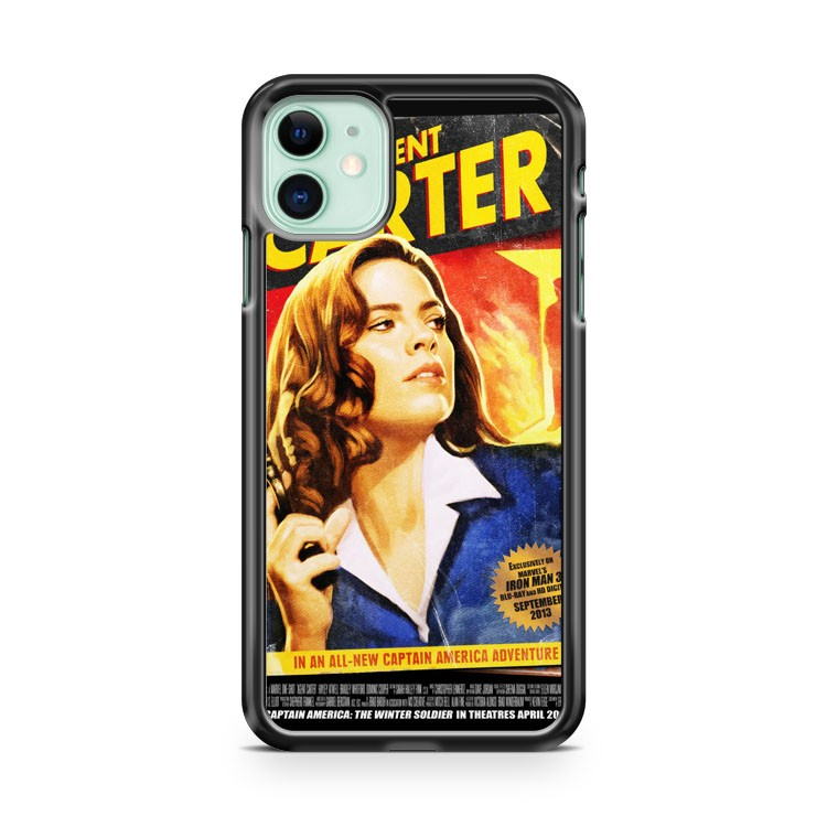 Agent Carter Short Poster iPhone 11 Case Cover | Overkill Inc.