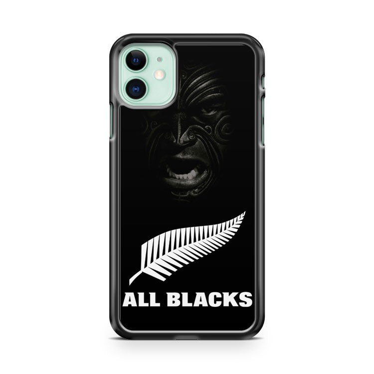 All Blacks Haka Face iPhone 11 Case Cover | Overkill Inc.