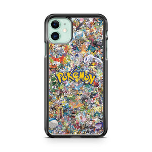 All Character Pokemon iPhone 11 Case Cover | Overkill Inc.