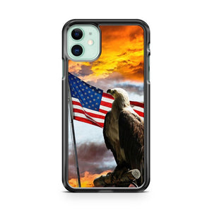 American Eagle Flag Usa iPhone 11 Case Cover | Overkill Inc.
