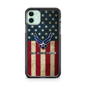 American Flag Us Air Force iPhone 11 Case Cover | Overkill Inc.