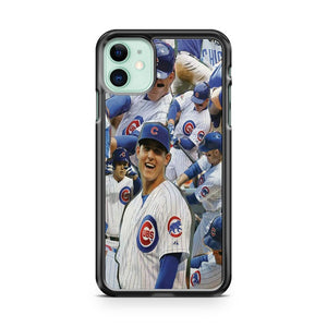 Anthony Rizzo Chicago Cubs MLB Rookie iPhone 11 Case Cover | Overkill Inc.