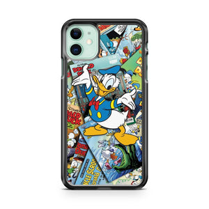 Anymode Donald Ducks Comic iPhone 11 Case Cover | Overkill Inc.