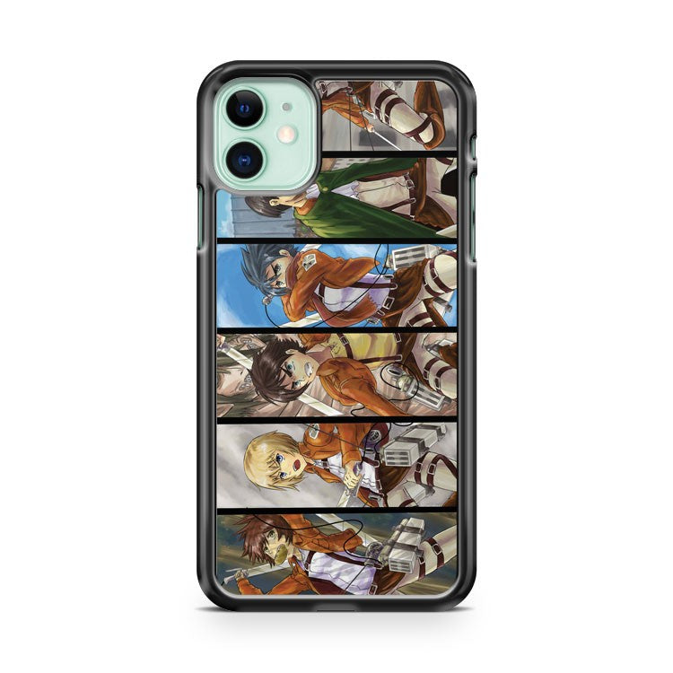 Attack On Titan All Star Anime Manga iPhone 11 Case Cover | Overkill Inc.