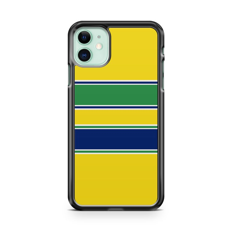 Ayrton Senna Helmet iPhone 11 Case Cover | Overkill Inc.