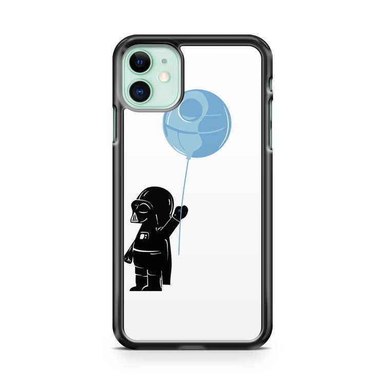 Baby Darth Vader With Ballon iPhone 11 Case Cover | Overkill Inc.