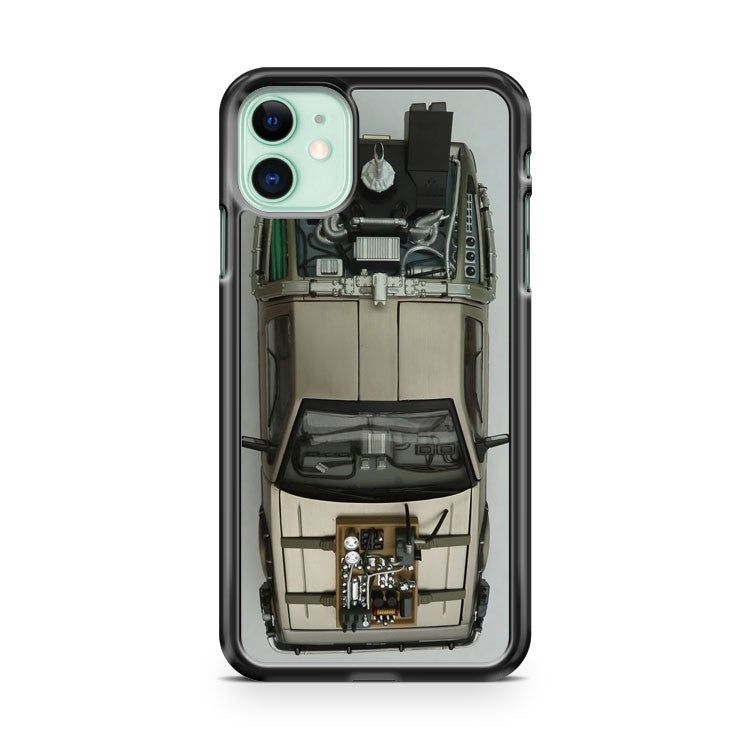 Back To The Future Ii Delorean Time Machine iPhone 11 Case Cover | Overkill Inc.