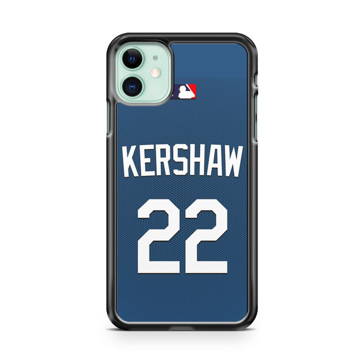 Clayton Kershaw La Dodgers MLB iPhone 11 Case Cover | Overkill Inc.