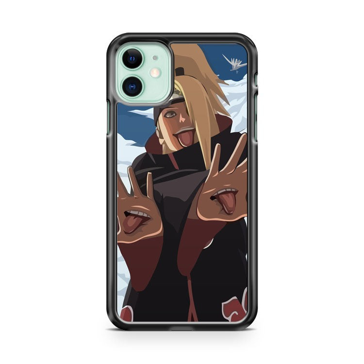 Cool Deidara Akatsuki Naruto iPhone 11 Case Cover | Overkill Inc.