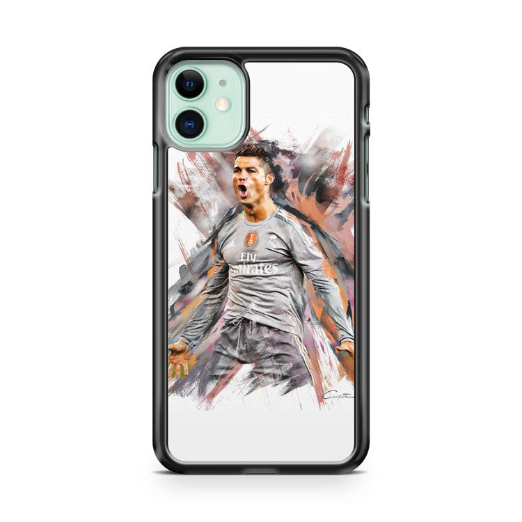 Cristiano Ronaldo Real Madrid iPhone 11 Case Cover | Overkill Inc.