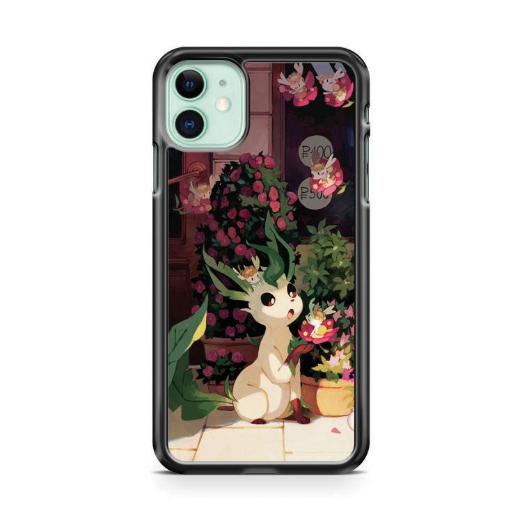 Cute Leafeon iPhone 11 Case Cover | Overkill Inc.