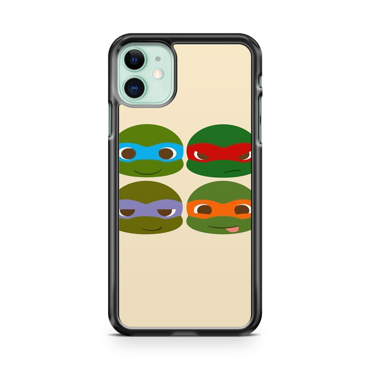 Cute Teenage Mutant Ninja Turtles iPhone 11 Case Cover | Overkill Inc.