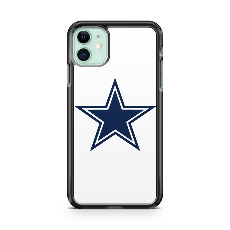Dallas Cowboys 2 White iPhone 11 Case Cover | Overkill Inc.