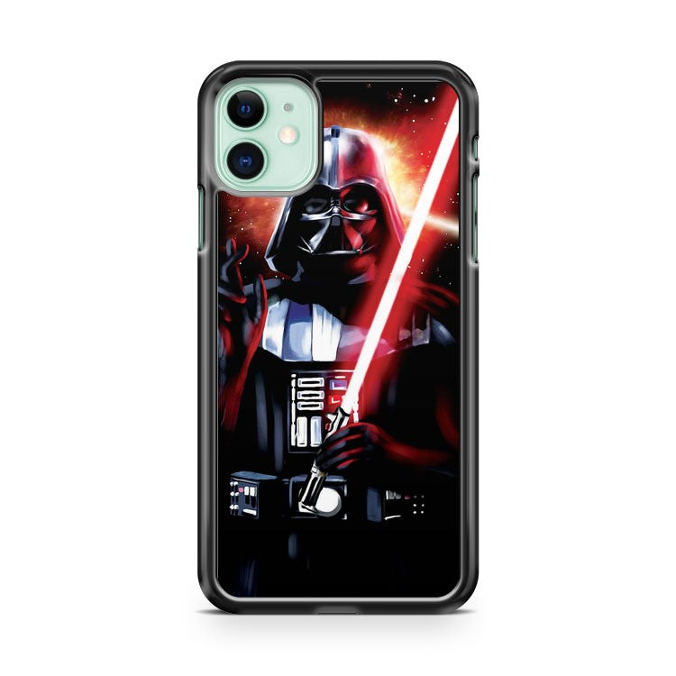 Darth Vader And Sword iPhone 11 Case Cover | Overkill Inc.