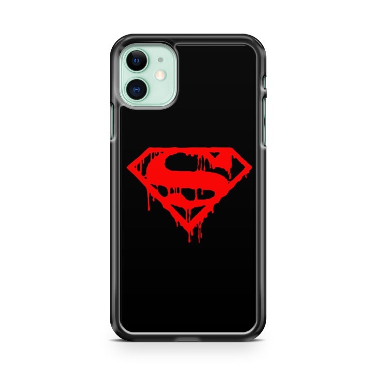 Dead Of Superman Man Of Steel iPhone 11 Case Cover | Overkill Inc.