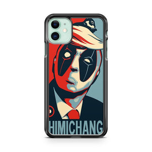 Deadpool Chimichangas Trump Parody iPhone 11 Case Cover | Overkill Inc.