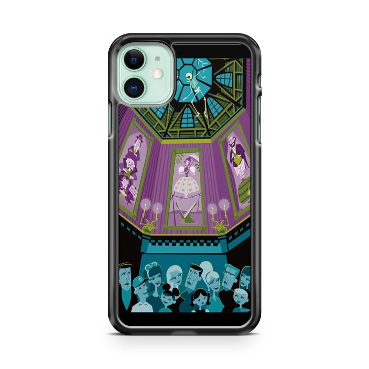 Disney Haunted Mansion Poster iPhone 11 Case Cover